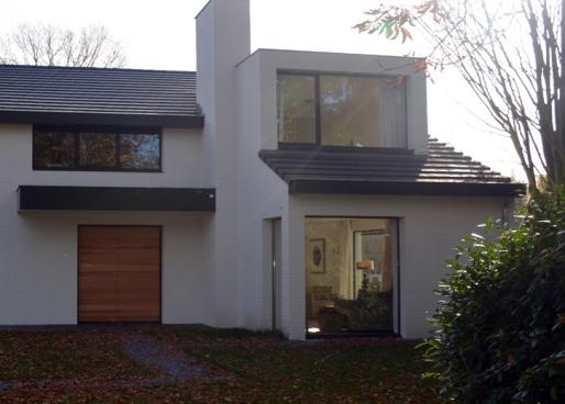 Verbouwing Villa Oisterwijk, Verbouwing Villa Oisterwijk
